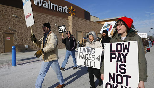 Walmart workers start to walk off job nationwide