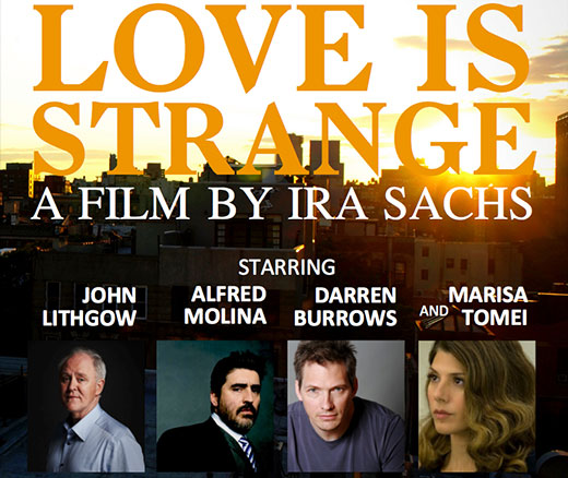 "Film review: ""Love is Strange"""
