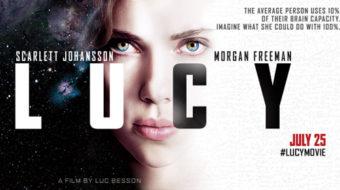 """Lucy"" evokes Kubrick, visually visionary"