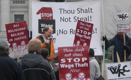 Obama Labor Dept. acts against wage and benefit theft