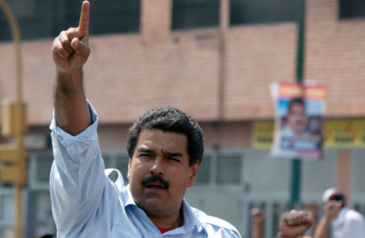 Leftist Maduro wins Venezuela election