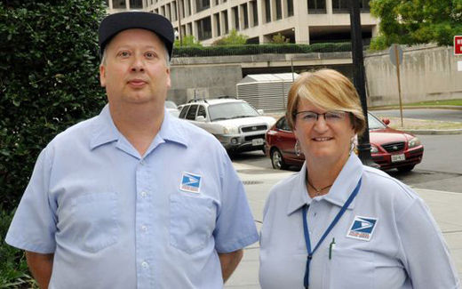 Letter Carriers honor heroes for foiling child molester