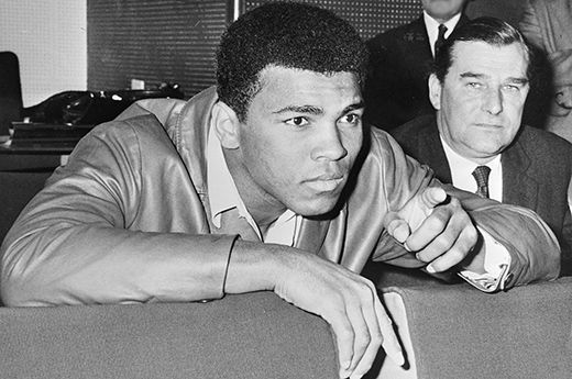 Today in African American history: Muhammad Ali the champ!