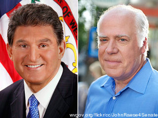 Manchin vs. Raese in West Virginia – better swallow the toad