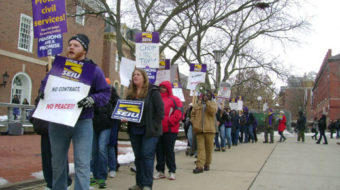 University of Illinois forces strike on campus workers