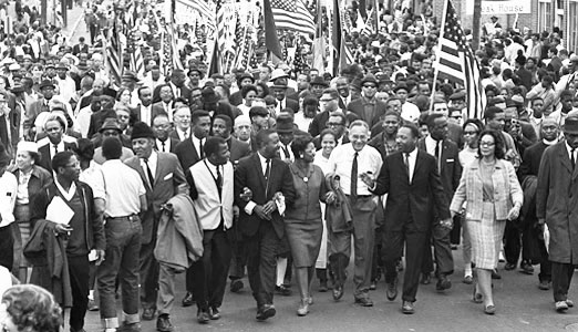 Massive reenactment of 1965 Selma march will focus on today's battles