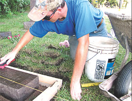 Union volunteers dig up a Minnesota graveyard
