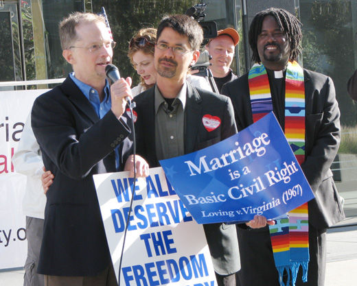 Appeals court hears California marriage equality case