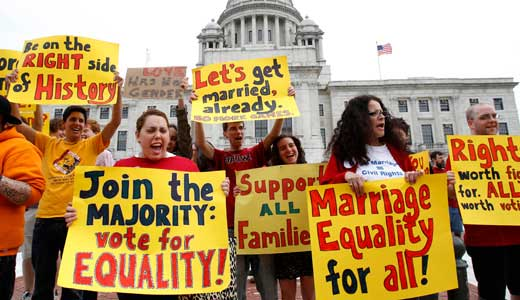 Obama makes history on marriage equality