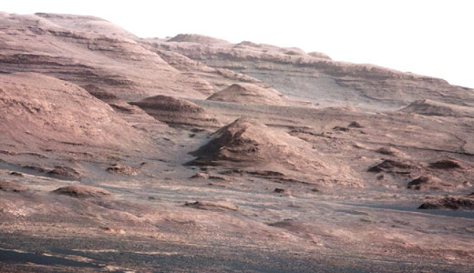 On Mars: Viewed from space Earth has no borders