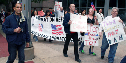 Texas May Day includes immigration reform