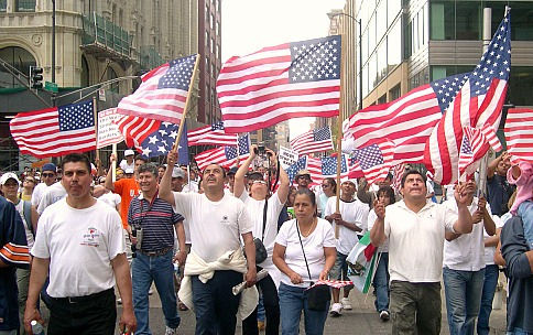 Today in labor history: Immigrant rights mega marches sweep U.S.