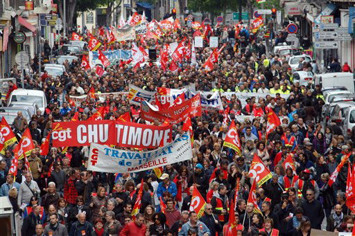 May Day 2016 around the world