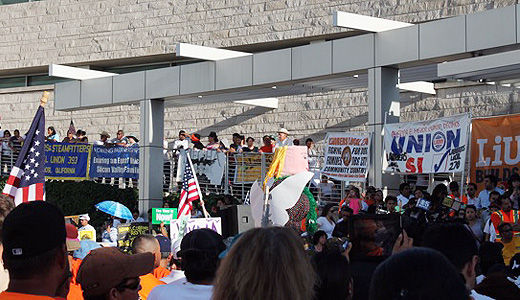 Thousands in San Jose call for immigration reform and workers' rights