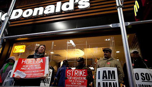 McDonald's to workers: Get a second job and go without heat