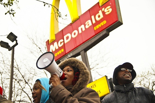 McDonald's workers sue fast food giant over racial and sexual discrimination