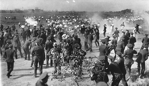Today in labor history: Police open fire on striking steelworkers