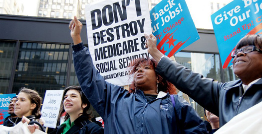 Unions and allies to GOP: Stop holding Americans hostage!