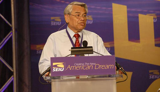 Top Latino labor leader talks immigration law with Obama