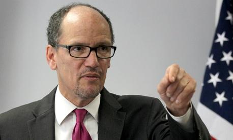 Labor Secretary calls for raise in the minimum wage