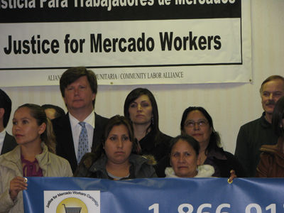 Campaign launched for mercado workers'  rights