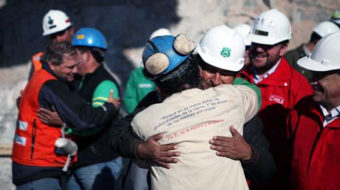 World cheers Chilean miners rescue