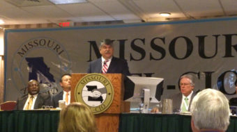 """""""We have to care, We do care, We're all in,"""" Inspiring report from Missouri labor"""