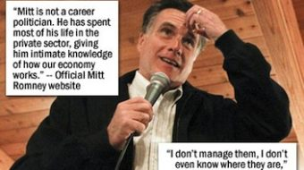 Romney part of Global Tax Dodging, Inc.