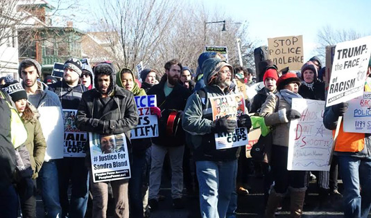 Boston's MLK march unites movements for economic and racial justice