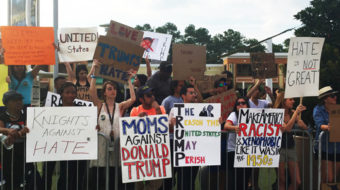 Central Florida community rejects Trump