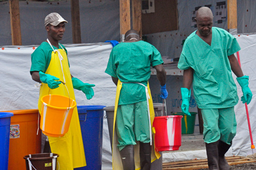 Ebola epidemic and African underdevelopment