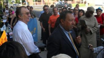 """""""Selective enforcement"""" charged in raid of Chicano activist's home"""