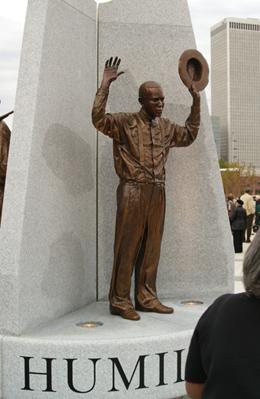Tulsa park commemorates 1921 race riot