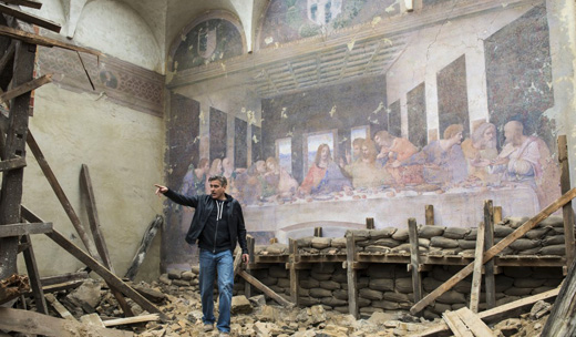 """Star-studded """"Monuments Men"""" asks: Is art worth fighting for?"""