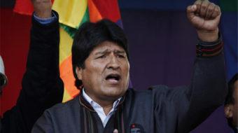 Bolivia's socialist government seeks referendum approval; U.S. intervenes