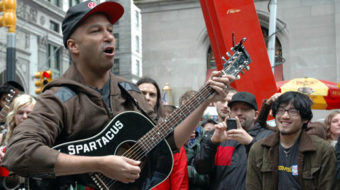 Occupy protests spur music explosion