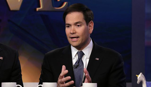 Rubio announces, abandons immigration reform