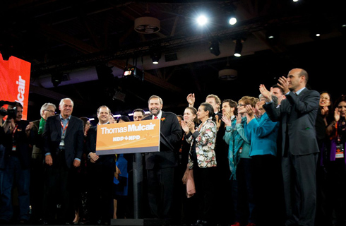 Social democratic NDP could lead Canada's next government