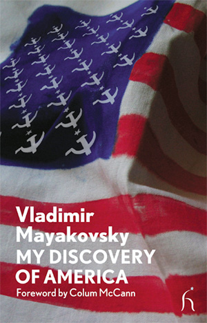 "Left on the bookshelf: ""My Discovery of America"""