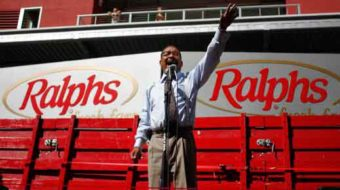 NAACP rallies for grocery workers, labor rights
