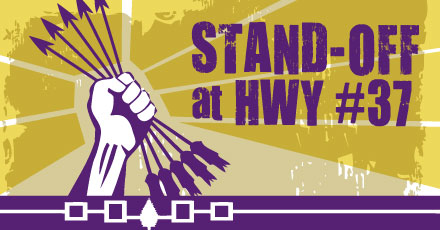 """Stand-Off at HWY #37"": Mixed loyalties, motives in great Native drama"
