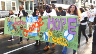 Youth march and African American History Celebration inspire struggle