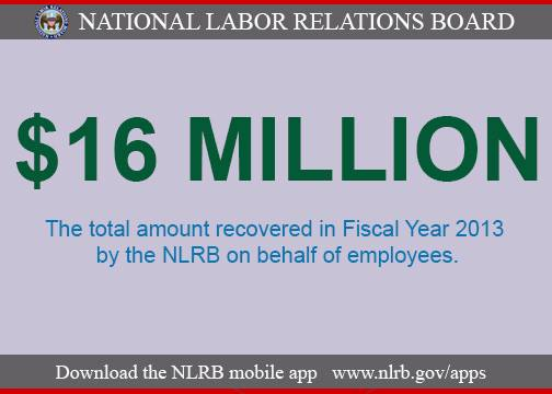 NLRB: Don't stick workers with tax bill on lump sum back pay