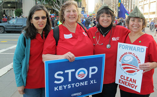 Nurses demand that State Department vouch for safety of XL pipeline