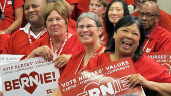 Here's why the Nurses Union endorsed Bernie Sanders over Clinton