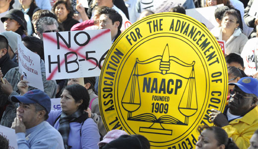 Civil rights and labor leaders develop strategy to repeal anti-immigrant law
