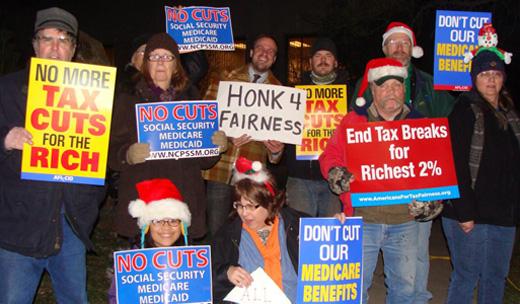 Progressives: No cave-in to Republican fiscal cliff demands!