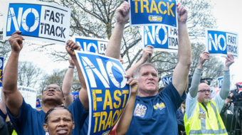TPP, presidential politics the talk at Steelworkers legislative conference