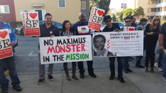 Bay area residents demand affordable housing