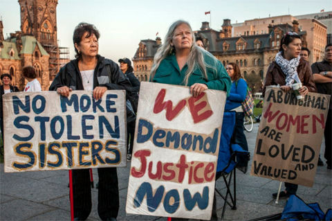 Report: Indigenous women in Canada face high murder rate